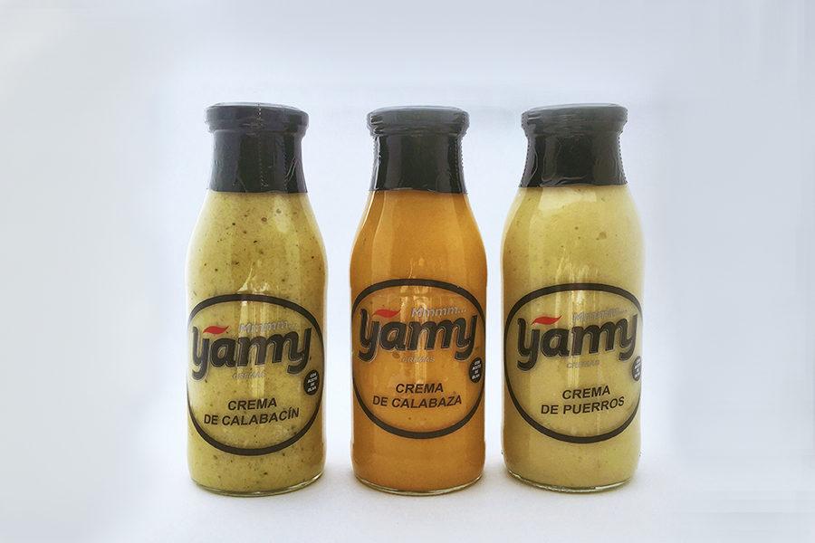 Descubre las nuevas cremas de verduras Yamy para este otoño